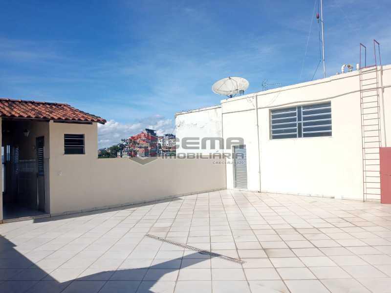 Terraço - Apartamento 1 quarto para alugar Glória, Zona Sul RJ - R$ 1.600 - LAAP11582 - 3