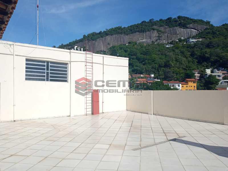 Terraço - Apartamento 1 quarto para alugar Glória, Zona Sul RJ - R$ 1.600 - LAAP11582 - 5