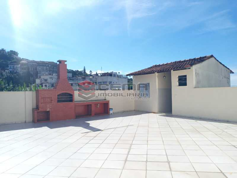 Terraço - Apartamento 1 quarto para alugar Glória, Zona Sul RJ - R$ 1.600 - LAAP11582 - 4