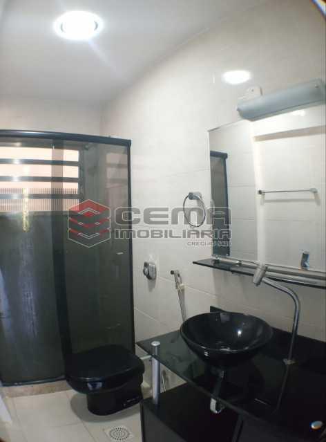 Banheiro suíte - Apartamento 1 quarto para alugar Glória, Zona Sul RJ - R$ 1.600 - LAAP11582 - 14