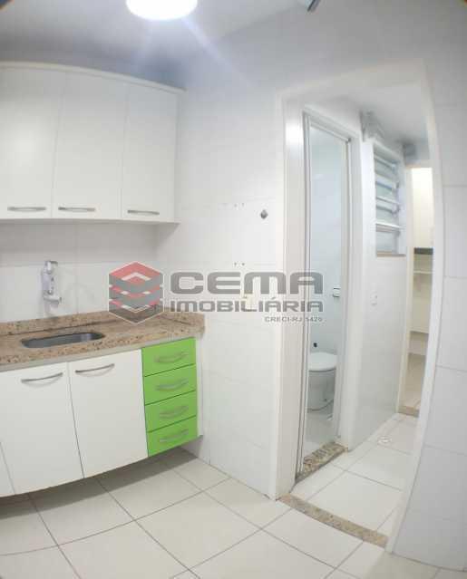 Cozinha - Apartamento 1 quarto para alugar Glória, Zona Sul RJ - R$ 1.600 - LAAP11582 - 16