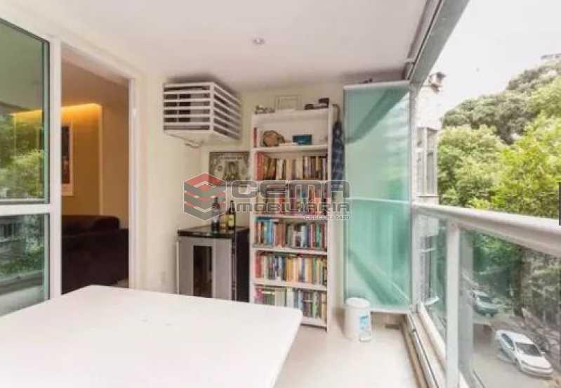varanda  - Apartamento À Venda - Flamengo - Rio de Janeiro - RJ - LAAP22891 - 4