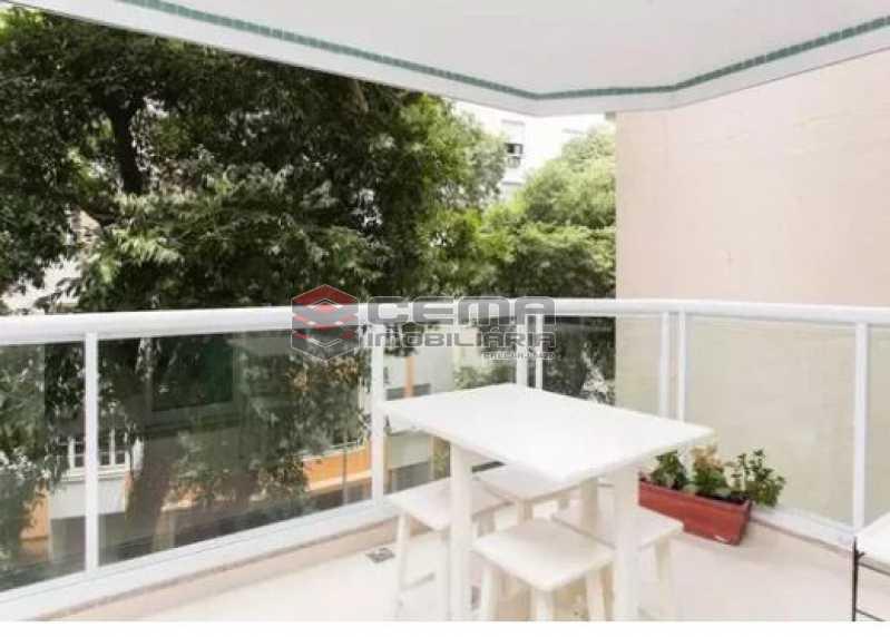 varanda - Apartamento À Venda - Flamengo - Rio de Janeiro - RJ - LAAP22891 - 8