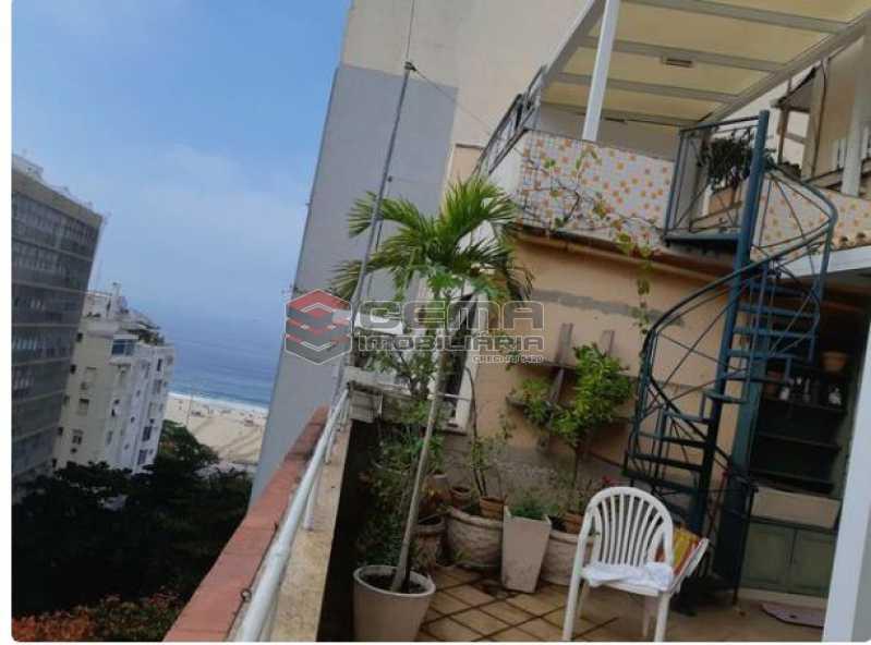Varanda - Cobertura à venda Rua República do Peru,Copacabana, Zona Sul RJ - R$ 2.350.000 - LACO60002 - 7