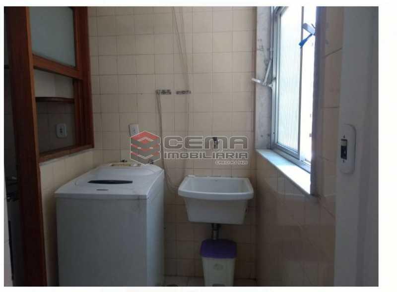 área serviço - Apartamento À Venda - Icaraí - Niterói - RJ - LAAP22923 - 10