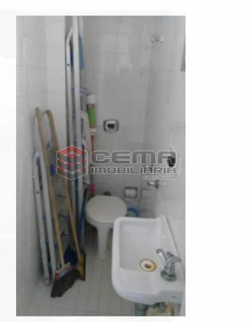 banheiro serviço  - Apartamento À Venda - Rio de Janeiro - RJ - Flamengo - LAAP22930 - 14