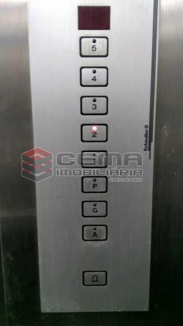 elevador - Apartamento 1 quarto à venda Catete, Zona Sul RJ - R$ 490.000 - LAAP12107 - 15