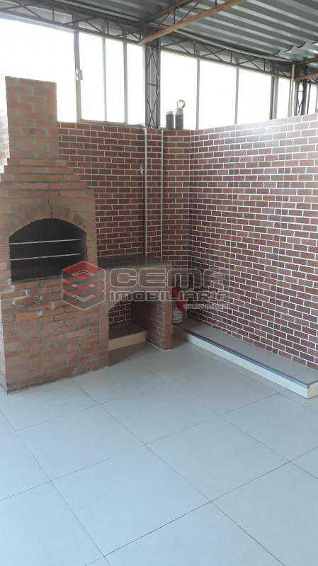 Churrasqueira - Área Comum - Apartamento 3 quartos à venda Tijuca, Zona Norte RJ - R$ 725.000 - LAAP32495 - 24