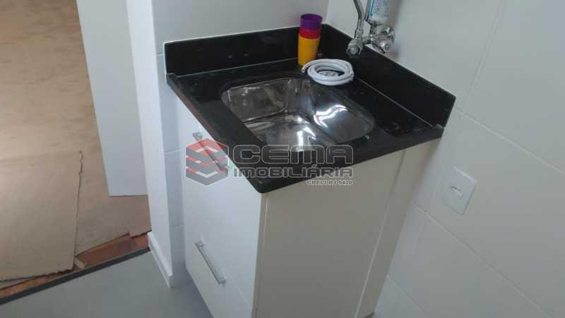 cozinha - Kitnet/Conjugado 22m² à venda Rua do Catete,Glória, Zona Sul RJ - R$ 328.000 - LAKI00897 - 10