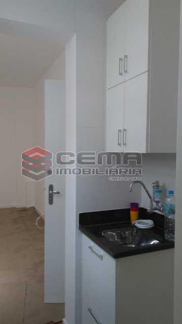 cozinha - Kitnet/Conjugado 22m² à venda Rua do Catete,Glória, Zona Sul RJ - R$ 328.000 - LAKI00897 - 11