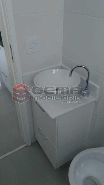 banheiro - Kitnet/Conjugado 22m² à venda Rua do Catete,Glória, Zona Sul RJ - R$ 328.000 - LAKI00897 - 6