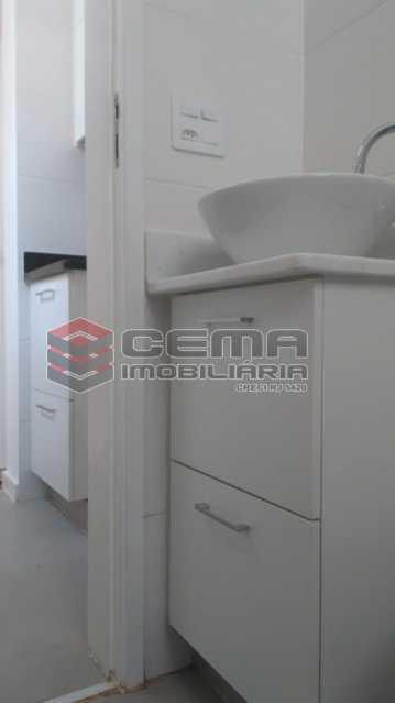 banheiro - Kitnet/Conjugado 22m² à venda Rua do Catete,Glória, Zona Sul RJ - R$ 328.000 - LAKI00897 - 7