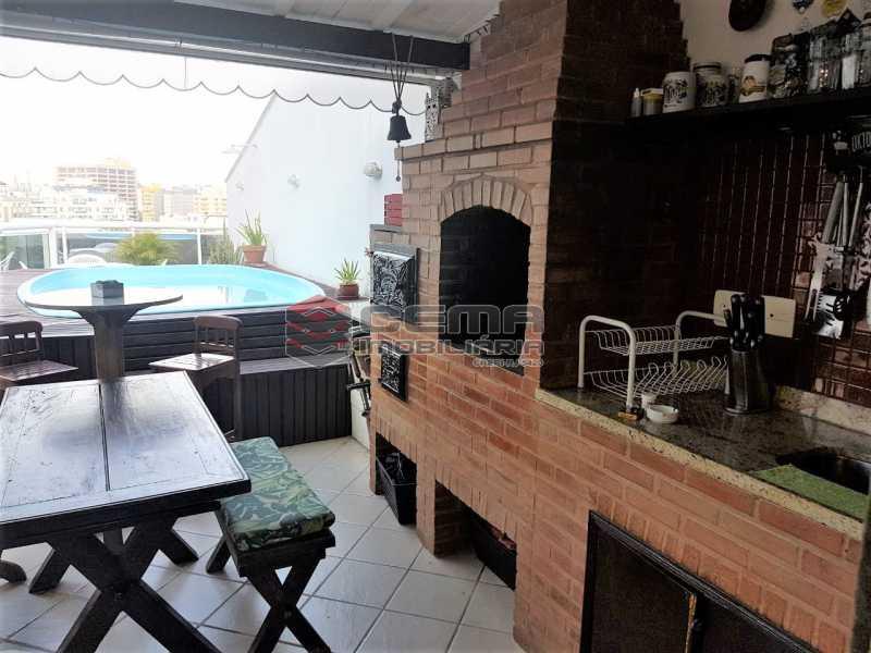 Terraço churrasqueira - Cobertura À Venda - Rio de Janeiro - RJ - Botafogo - LACO30187 - 4