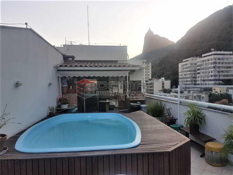 Terraço  piscina - Cobertura À Venda - Rio de Janeiro - RJ - Botafogo - LACO30187 - 3