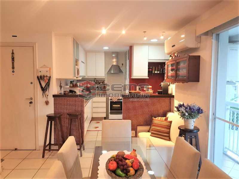 Cozinha /sala de jantar - Cobertura À Venda - Rio de Janeiro - RJ - Botafogo - LACO30187 - 9