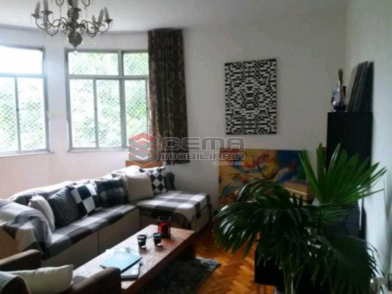 1 - Apartamento à venda Rua do Humaitá,Humaitá, Zona Sul RJ - R$ 750.000 - LAAP22988 - 1