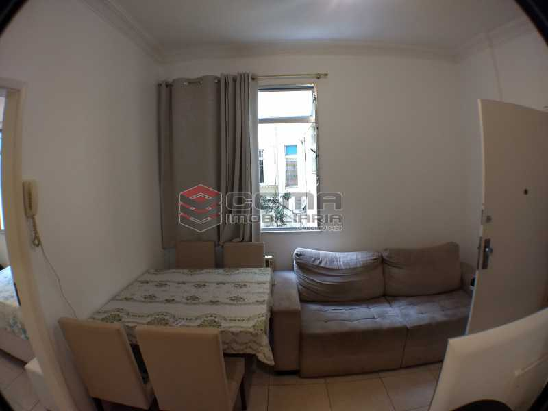 1sala2 - Apartamento 1 quarto à venda Botafogo, Zona Sul RJ - R$ 495.000 - LAAP11723 - 3