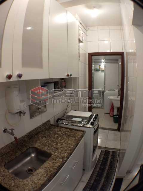 4cozinha2 - Apartamento 1 quarto à venda Botafogo, Zona Sul RJ - R$ 495.000 - LAAP11723 - 16