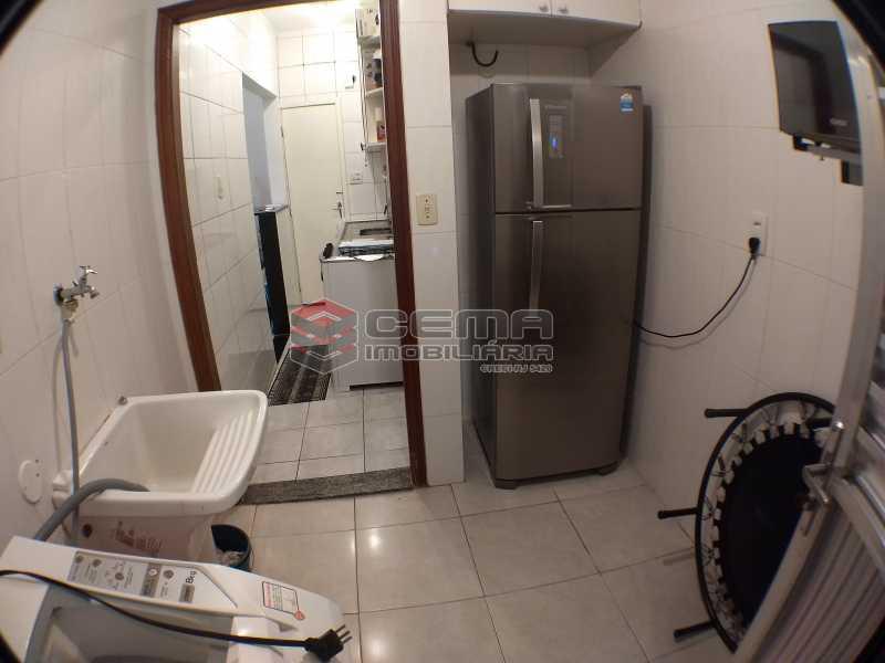 5áreaexterna2 - Apartamento 1 quarto à venda Botafogo, Zona Sul RJ - R$ 495.000 - LAAP11723 - 21