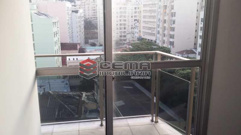 vista fundos - Andar 406m² à venda Glória, Zona Sul RJ - R$ 4.300.000 - LAAN00071 - 16