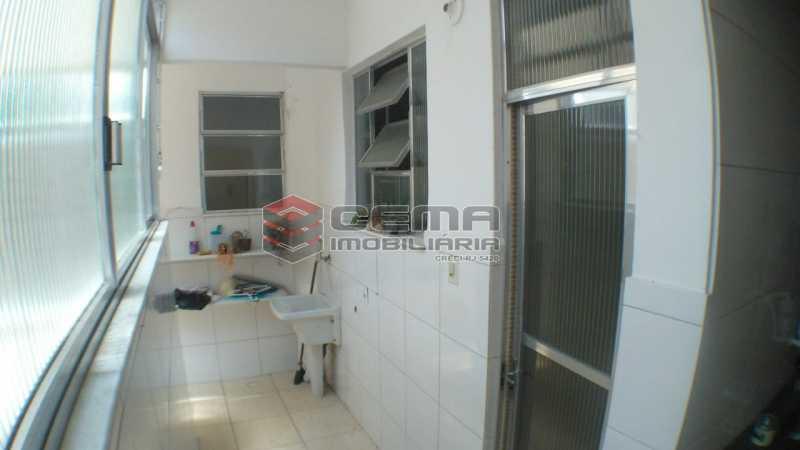 área de serviço - Apartamento À Venda - Rio de Janeiro - RJ - Laranjeiras - LAAP32545 - 22