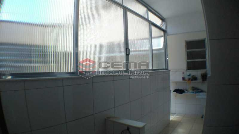 área de serviço - Apartamento À Venda - Rio de Janeiro - RJ - Laranjeiras - LAAP32545 - 23