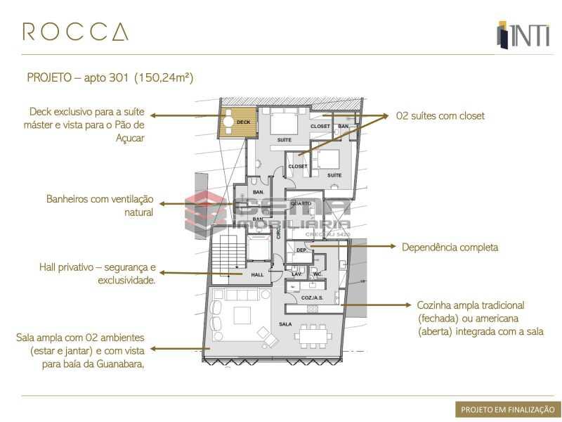 ROCCA INFOS - PROJETO EM FINAL - Apartamento À Venda - Rio de Janeiro - RJ - Urca - LAAP32548 - 5