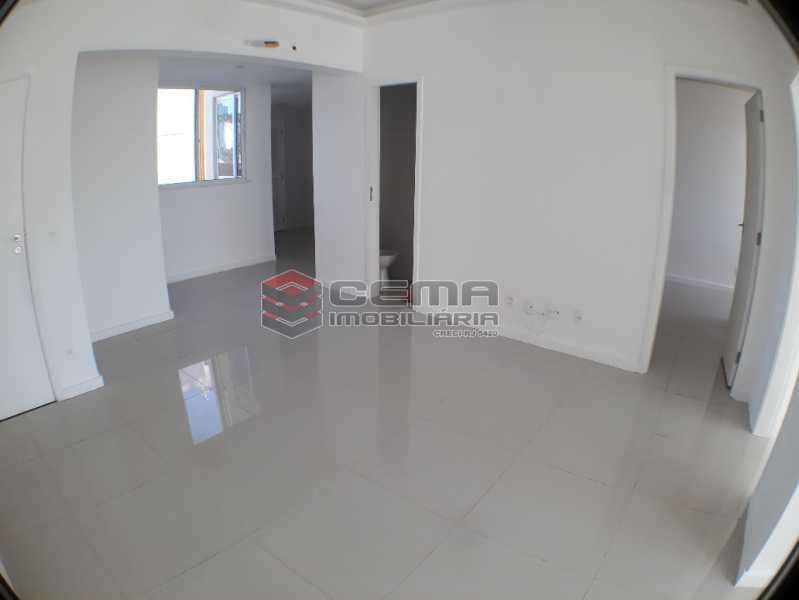 Sala - Apartamento 2 quartos para alugar Catete, Zona Sul RJ - R$ 2.588 - LAAP23078 - 5