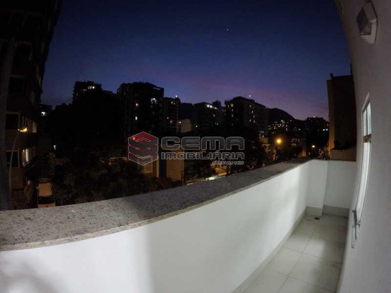 Varanda - Casa Comercial 392m² à venda Rua Oliveira Fausto,Botafogo, Zona Sul RJ - R$ 3.350.000 - LACC50002 - 17
