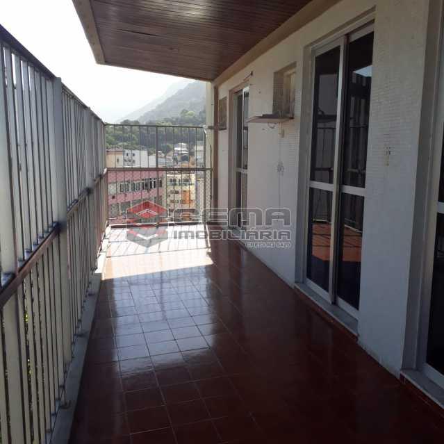 varandão. - Apartamento Para Alugar - Humaitá - Rio de Janeiro - RJ - LAAP32583 - 5
