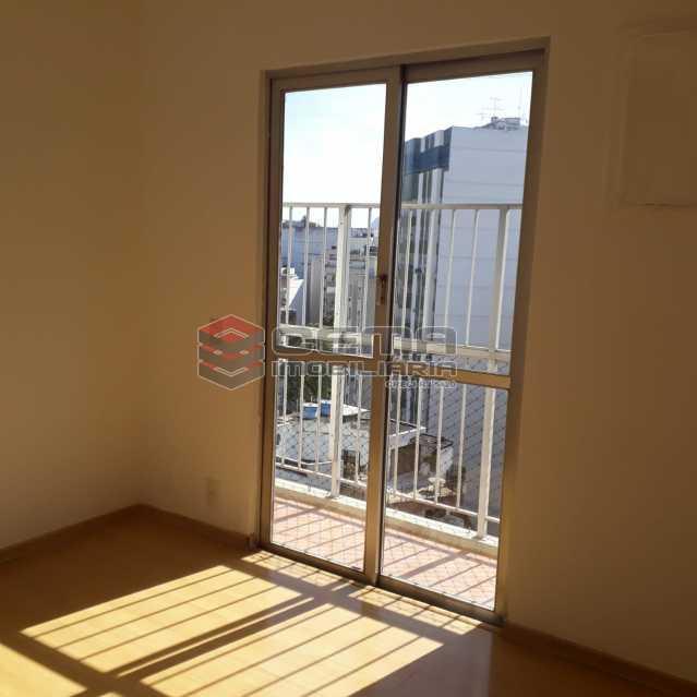 varanda suíte. - Apartamento Para Alugar - Humaitá - Rio de Janeiro - RJ - LAAP32583 - 13