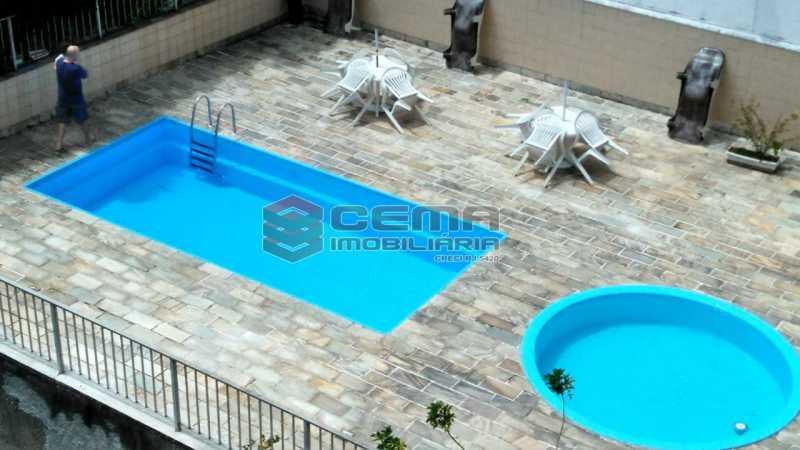 piscina - Apartamento à venda Praça São Judas Tadeu,Cosme Velho, Zona Sul RJ - R$ 988.000 - LAAP32592 - 22
