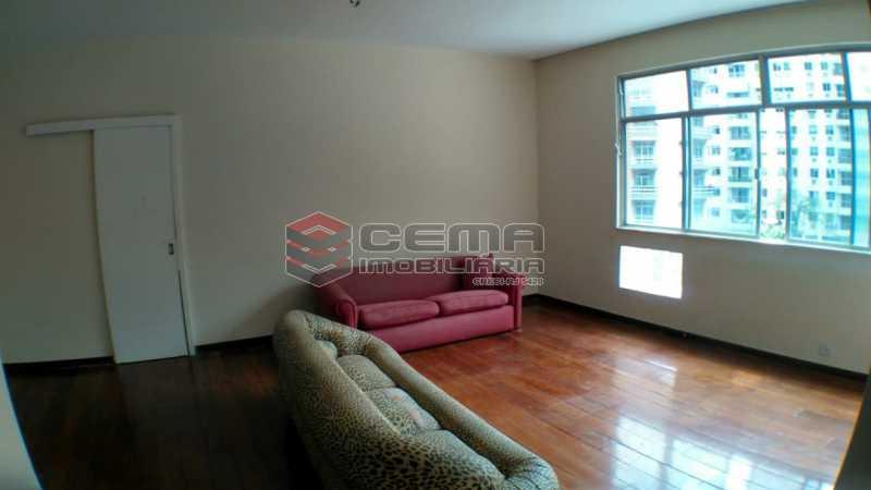 sala - Apartamento à venda Praça São Judas Tadeu,Cosme Velho, Zona Sul RJ - R$ 988.000 - LAAP32592 - 4