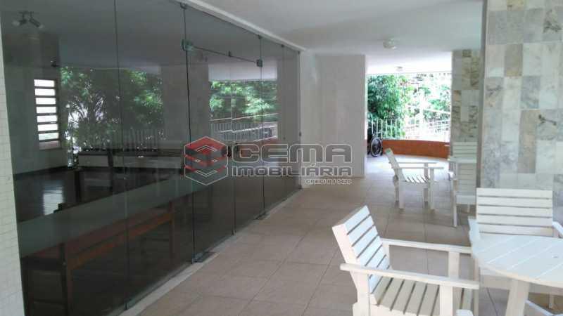 salão de festas - Apartamento à venda Praça São Judas Tadeu,Cosme Velho, Zona Sul RJ - R$ 988.000 - LAAP32592 - 23