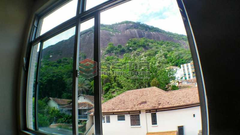 vista quarto  - Apartamento à venda Praça São Judas Tadeu,Cosme Velho, Zona Sul RJ - R$ 988.000 - LAAP32592 - 11