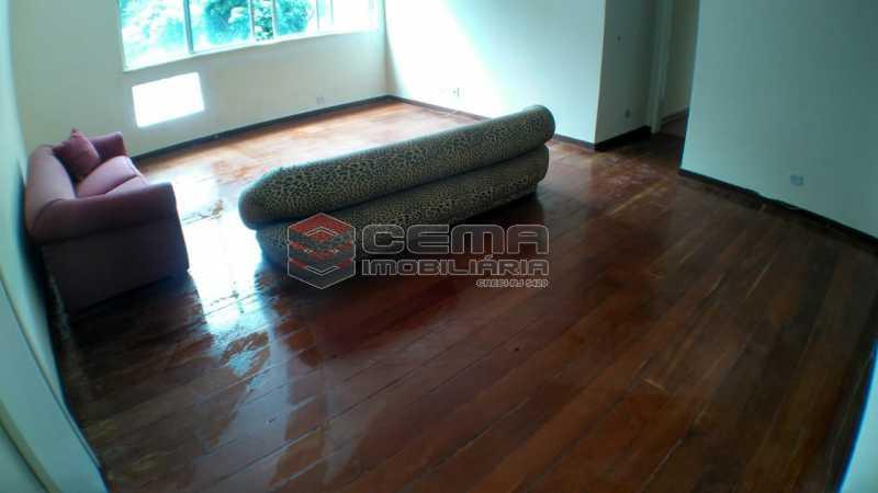 sala - Apartamento à venda Praça São Judas Tadeu,Cosme Velho, Zona Sul RJ - R$ 988.000 - LAAP32592 - 3