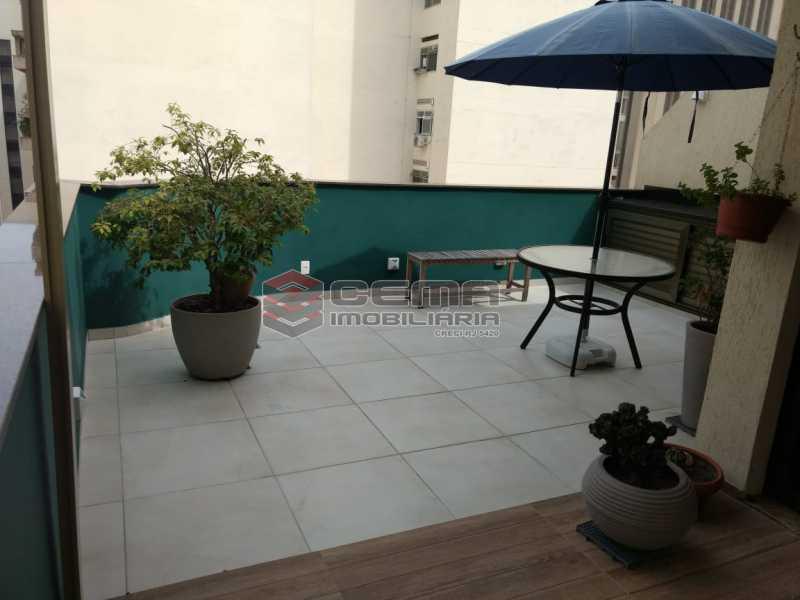 terraço - Cobertura À Venda - Rio de Janeiro - RJ - Botafogo - LACO10027 - 1