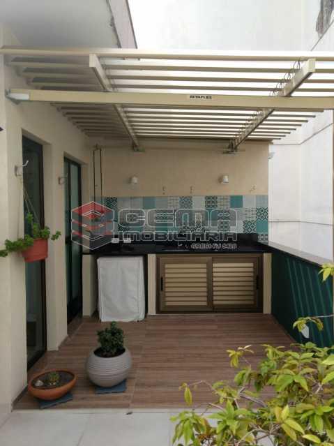 terraço - Cobertura À Venda - Rio de Janeiro - RJ - Botafogo - LACO10027 - 3