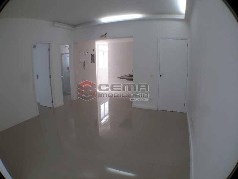 Sala - Apartamento 2 quartos para alugar Catete, Zona Sul RJ - R$ 2.500 - LAAP23119 - 3