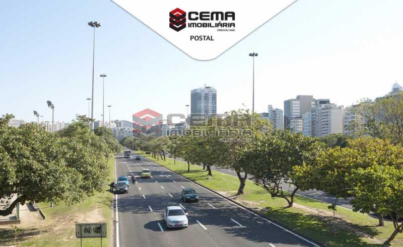Foto postal - Kitnet/Conjugado 29m² à venda Rua Dois de Dezembro,Flamengo, Zona Sul RJ - R$ 420.000 - LAKI00937 - 20