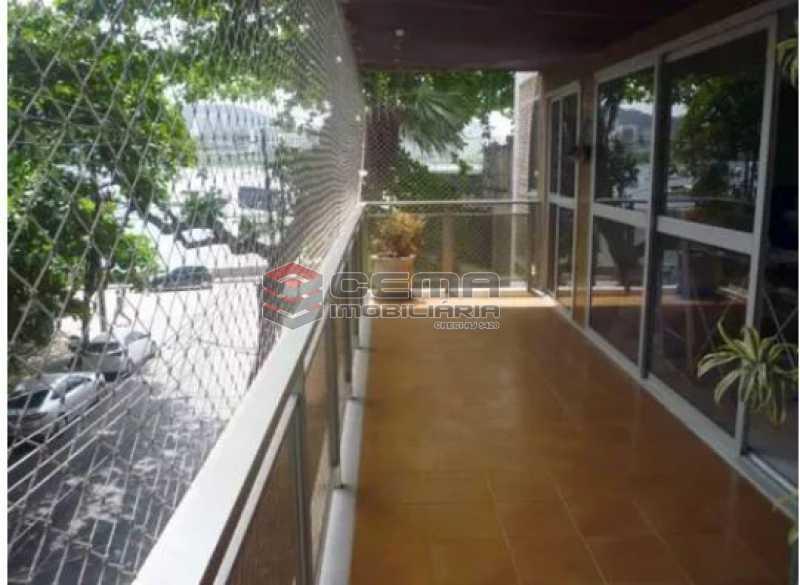 varandão - Apartamento 4 quartos à venda Urca, Zona Sul RJ - R$ 2.300.000 - LAAP40559 - 3