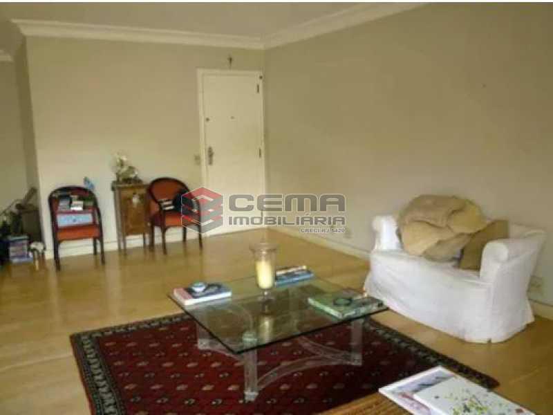 sala - Apartamento 4 quartos à venda Urca, Zona Sul RJ - R$ 2.300.000 - LAAP40559 - 4