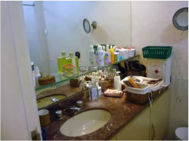 banheiro - Apartamento 4 quartos à venda Urca, Zona Sul RJ - R$ 2.300.000 - LAAP40559 - 13
