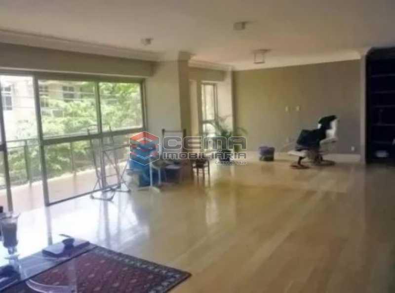 sala - Apartamento 4 quartos à venda Urca, Zona Sul RJ - R$ 2.300.000 - LAAP40559 - 5