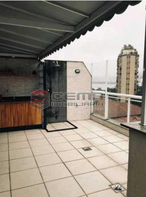 18 - Cobertura À Venda Rua Engenheiro Marques Porto,Humaitá, Zona Sul RJ - R$ 1.750.000 - LACO30196 - 19