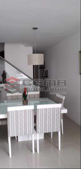 1 - Cobertura À Venda Rua Engenheiro Marques Porto,Humaitá, Zona Sul RJ - R$ 1.750.000 - LACO30196 - 1