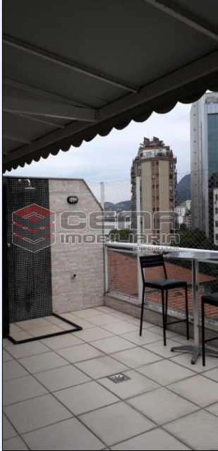 21 - Cobertura À Venda Rua Engenheiro Marques Porto,Humaitá, Zona Sul RJ - R$ 1.750.000 - LACO30196 - 22