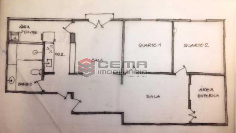 g20 - Apartamento À Venda Rua Aarão Reis,Santa Teresa, Zona Centro RJ - R$ 400.000 - LAAP23166 - 21