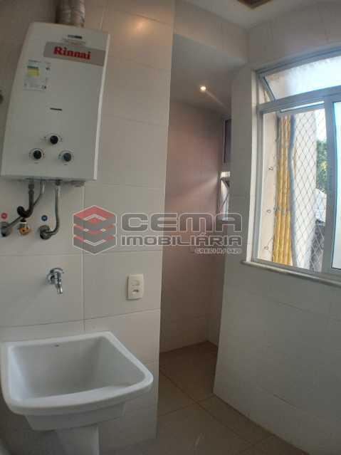 Área de serviço  - Apartamento 2 quartos para alugar Catete, Zona Sul RJ - R$ 2.500 - LAAP23171 - 20