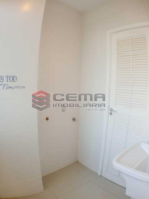 Área de serviço  - Apartamento 2 quartos para alugar Catete, Zona Sul RJ - R$ 2.500 - LAAP23171 - 21
